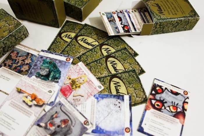 vue d'ensemble jeu de cartes à échanger Mindset